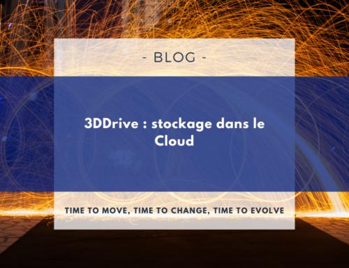 3DDrive : stockage dans le Cloud