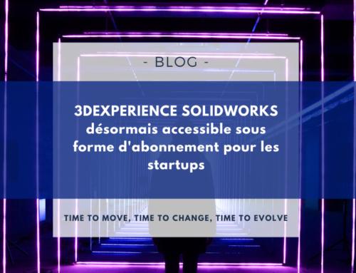3DEXPERIENCE SOLIDWORKS désormais accessible sous forme d'abonnement pour les startups